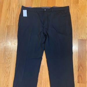 Men's black Oxford dress pants. Size 40x32.